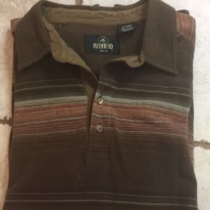 Excellent condition long sleeve polo